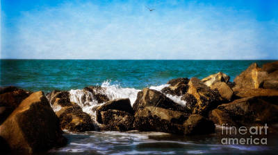 Photograph - Breakwater Dreams 2 by Julie Clements