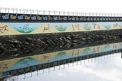 Photograph - Breakwater Mural by Marilyn Wilson