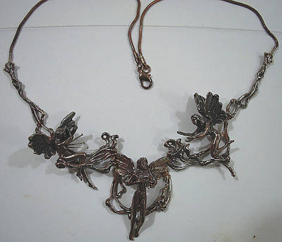 Shibuichi Jewelry - Breast Cancer Sucks Survivor Necklace by Michelle  Robison