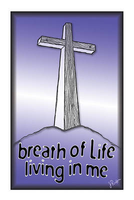 Drawing - Breath Of Life  by Jerry Ruffin