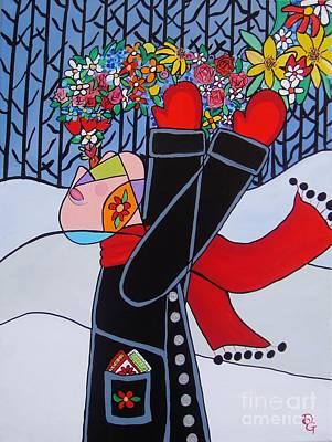Painting - Breath Of Spring by Deborah Glasgow