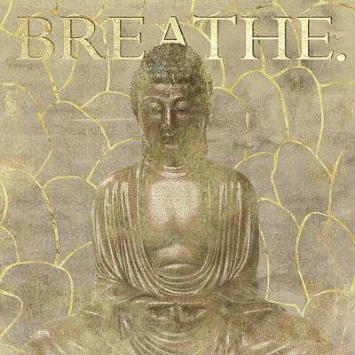 Breathe Painting - Breathe by Aubree Perrenoud