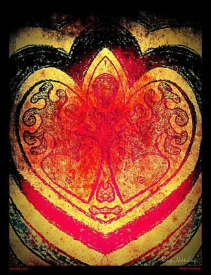 Digital Art - Breathe Love by Roxy Hurtubise