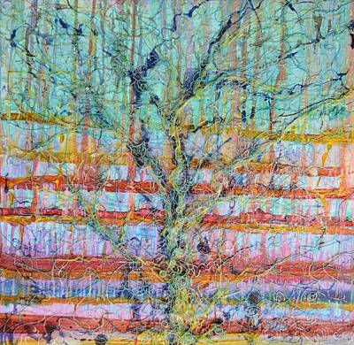 Painting - Breathe - Tree Of Life 4 by Regina Valluzzi