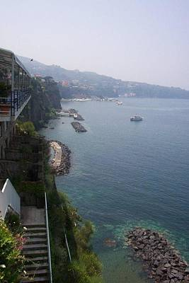 Photograph - Breathtaking Amalfi Coast In Italy by Charlayne Grenci