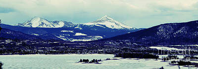 Photograph - Breckenridge Colorado Icy Mountains by Patricia Awapara