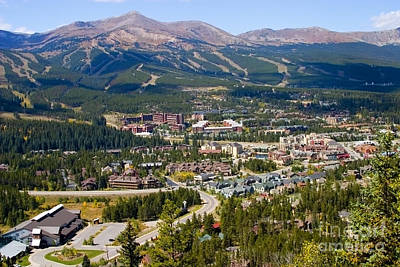 Steven Krull Royalty-Free and Rights-Managed Images - Breckenridge Colorado by Steven Krull