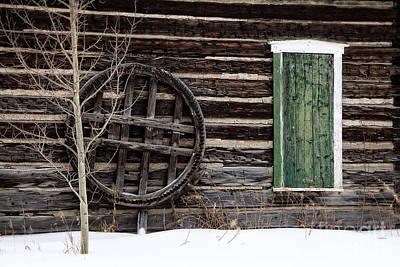 Breckenridge History In The Snow Art Print by Deborah Scannell