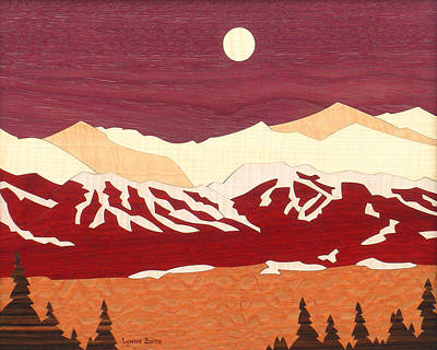 Breckenridge Art Print by Lynne Buss