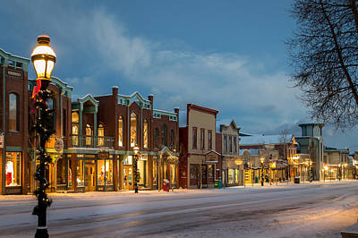 Breckenridge Main Street Art Print