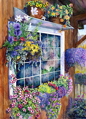 Brilliant Painting - Breckenridge Reflections by Mary Giacomini