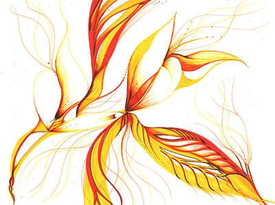 Drawing - Breeze by Karen  Renee