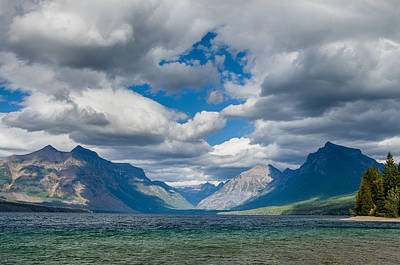 Photograph - Breezy Afternnon On Lake Mcdonald by Greg Nyquist