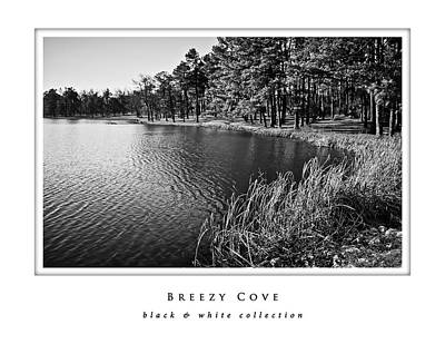 Photograph - Breezy Cove  Black And White Collection by Greg Jackson