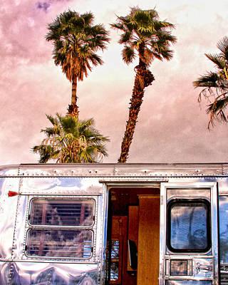 Breezy Palm Springs Art Print by William Dey