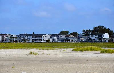 Breezy Point As Seen From Beach August 2012 Art Print