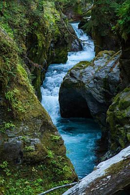 Photograph - Breitenbush River by John Ferrante
