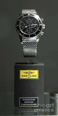 Breitling Watch - 5d20664 Art Print by Wingsdomain Art and Photography