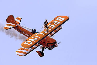 Photograph - Breitling Wingwalker by Paul Scoullar