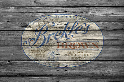 Handcrafted Photograph - Brekles Brown by Joe Hamilton