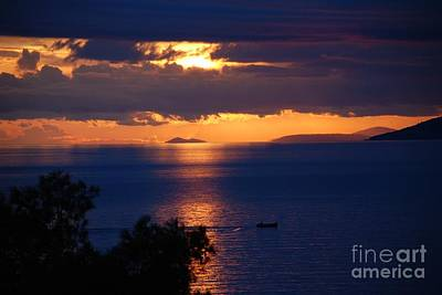 Photograph - Brela Sunset Croatia by David Fowler