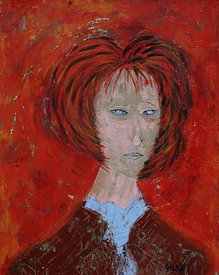 Painting - Brenda  by Oscar Penalber