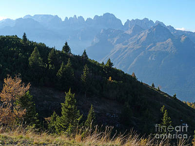 Photograph - Brenta Peaks From Paganella by Phil Banks