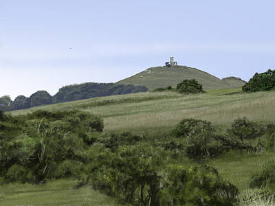 Digital Art - Brentor by Nigel Follett