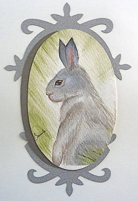 Painting - Brer Rabbit by Brenda Ruark
