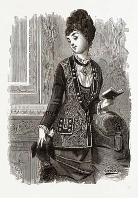 Breton Veste, 19th Century Fashion Art Print