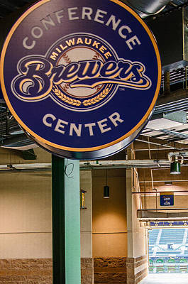Photograph - Brewers Conference Center by Susan  McMenamin