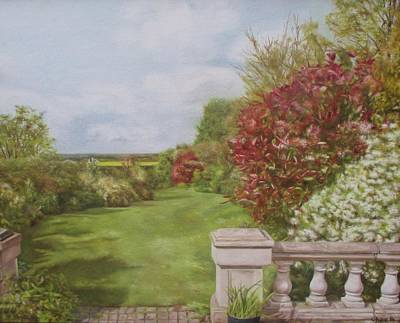 Painting - Brewers Garden by Cherise Foster