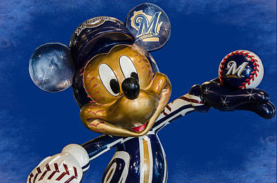 Photograph - Brewers Mickey  by Susan  McMenamin