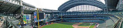 Photograph - Brewers - Miller Park Stadium by Susan  McMenamin