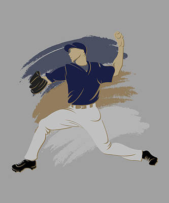 Brewers Photograph - Brewers Shadow Player by Joe Hamilton