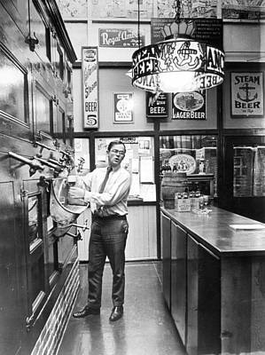 Brewery Or Bar? Print by Retro Images Archive