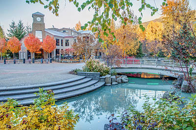 Photograph - Brewhouse Whistler Village In Fall by Pierre Leclerc Photography