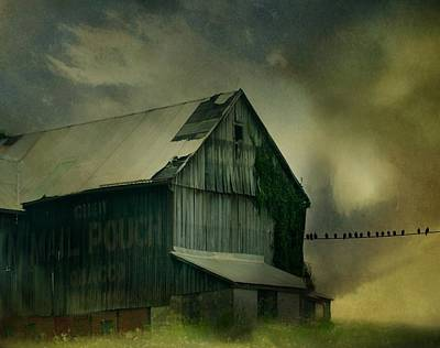 Storm Is Brewing Art Print by Gothicrow Images
