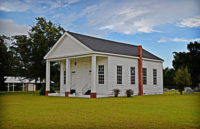 Photograph - Brewington Presbyterian by Linda Brown