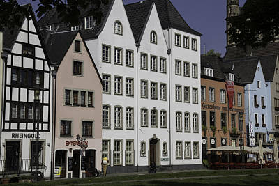 Brewpubs In Cologne Along The Rhine Art Print
