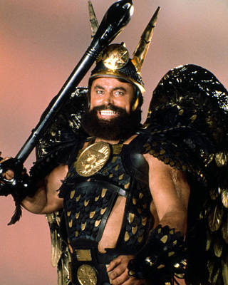 Science Fiction Photograph - Brian Blessed In Flash Gordon  by Silver Screen