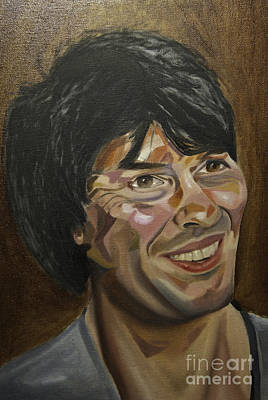 Painting - Brian Cox by James Lavott