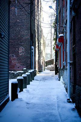 Photograph - Brick Alley by Allan Millora