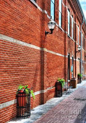 Photograph - Brick Alley by Mel Steinhauer