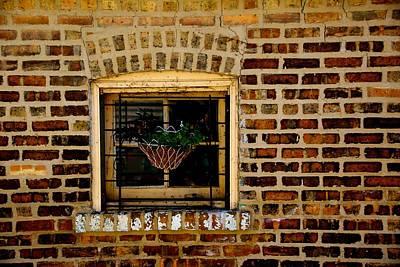 Wall Art - Photograph - Brick And Mortar by Michael Jewel Haley