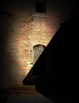 Brick And Shadow Art Print