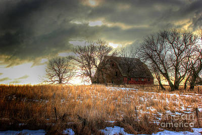 Photograph - Brick Barn by Thomas Danilovich
