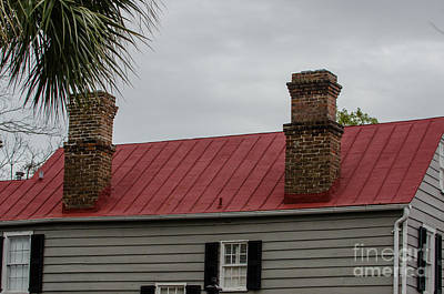 Photograph - Brick Chimney by Dale Powell