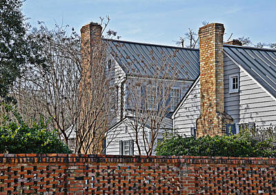Photograph - Brick Chimneys by Linda Brown