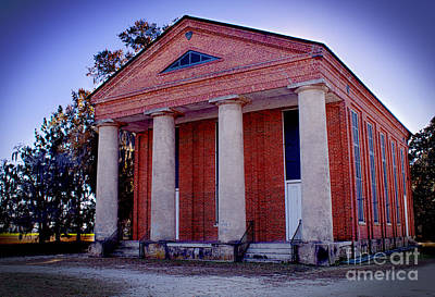 Photograph - Brick Church by Nelson Watkins